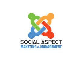 MoamenAhmedAshra tarafından Logo design for Social Media Marketing & Management business için no 15