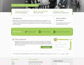 nº 3 pour Graphic redesign - FRONT PAGE and sub template - agreement24.com website par Pavithranmm