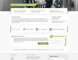 nº 4 pour Graphic redesign - FRONT PAGE and sub template - agreement24.com website par Pavithranmm