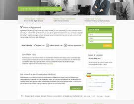 nº 7 pour Graphic redesign - FRONT PAGE and sub template - agreement24.com website par Pavithranmm