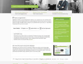 nº 8 pour Graphic redesign - FRONT PAGE and sub template - agreement24.com website par Pavithranmm