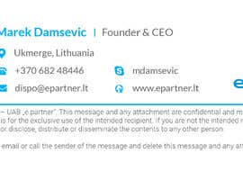 #10 for I need  graphic design of clickable HTML email signature. by rezaul2013