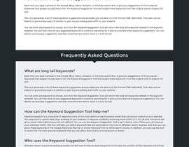 nº 31 pour One page site redesign par axeemsharif