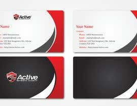 #7 para Business Card Design for Active Network Security.com de freelancework89