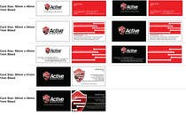 Business Card Design for Active Network Security.com için Graphic Design60 No.lu Yarışma Girdisi