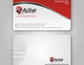 #97 pentru Business Card Design for Active Network Security.com de către imaginativeGFX