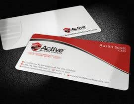 #98 pentru Business Card Design for Active Network Security.com de către imaginativeGFX