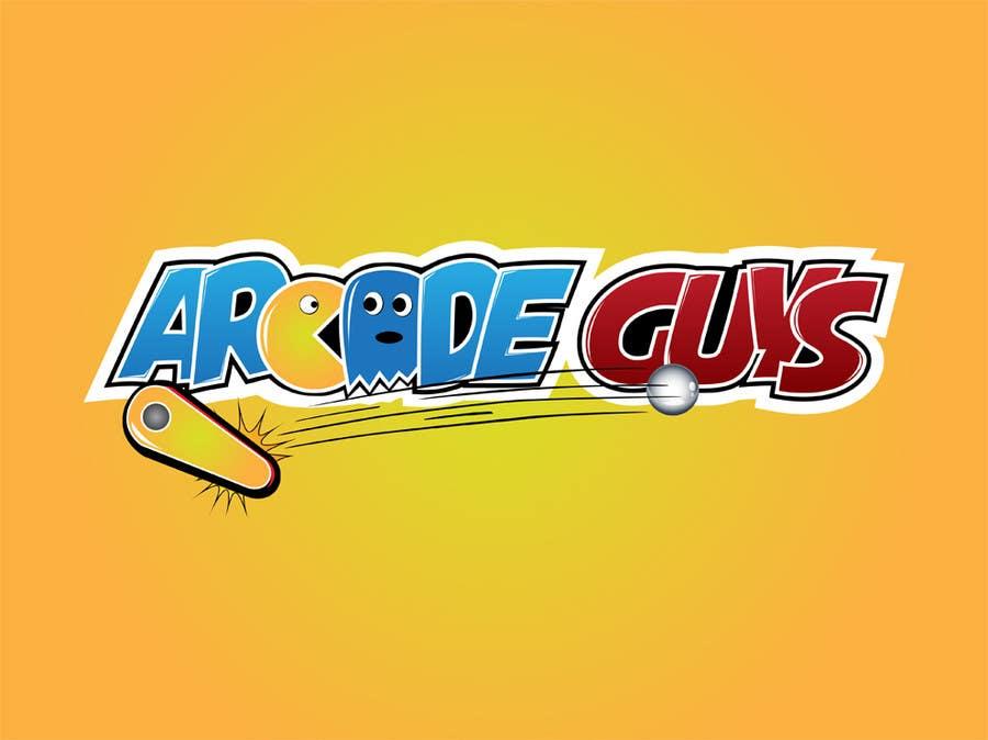 #145 for Logo Design for Arcade Guys by alinhd