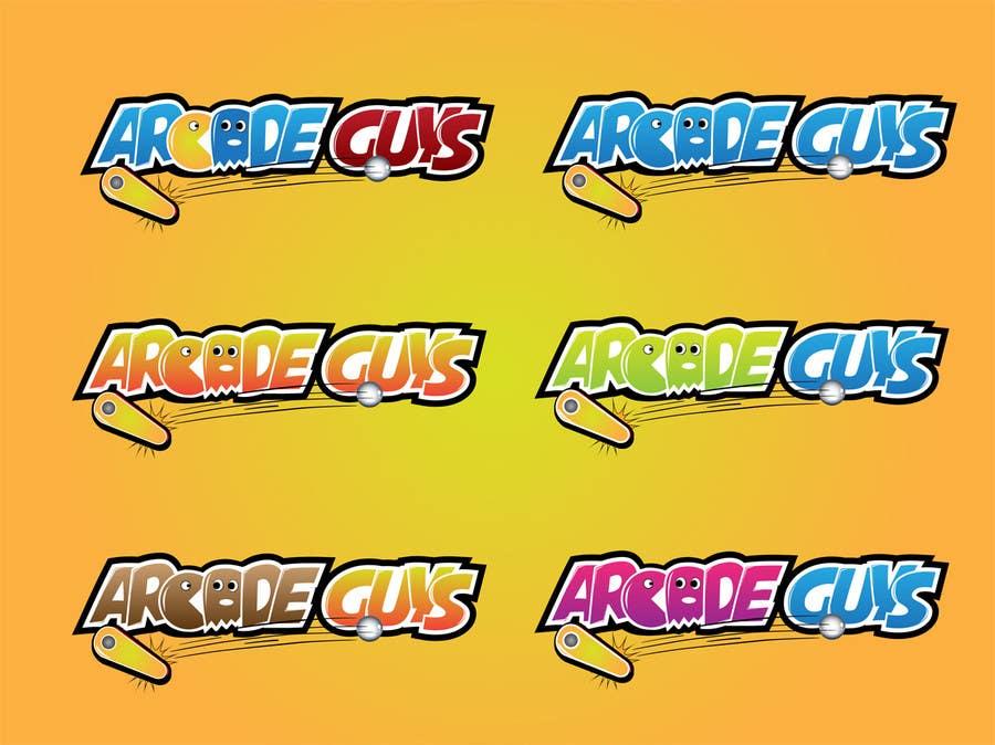 #147 for Logo Design for Arcade Guys by alinhd