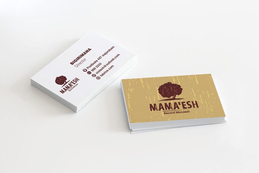 Konkurrenceindlæg #11 for Design a Business card