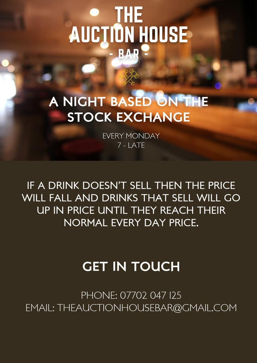 Design A Flyer For Stock Exchange