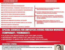 #8 cho Design a Flyer for immigration firm bởi amanullahktarar
