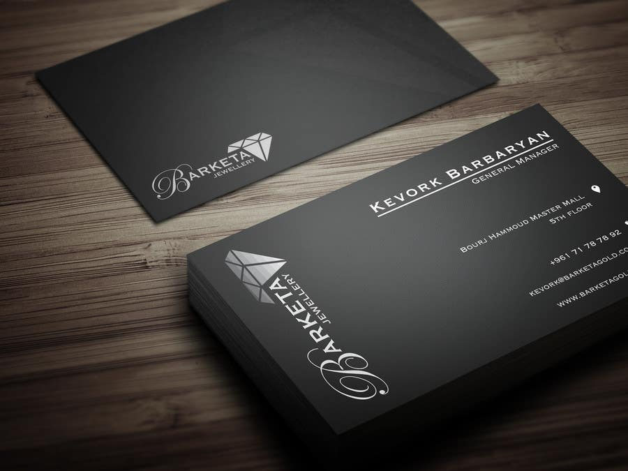 Business Card Samples Jewelry Images - Card Design And Card Template