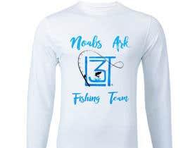 #4 para Design a Pro Fishing Team Shirt por ROMANBD6