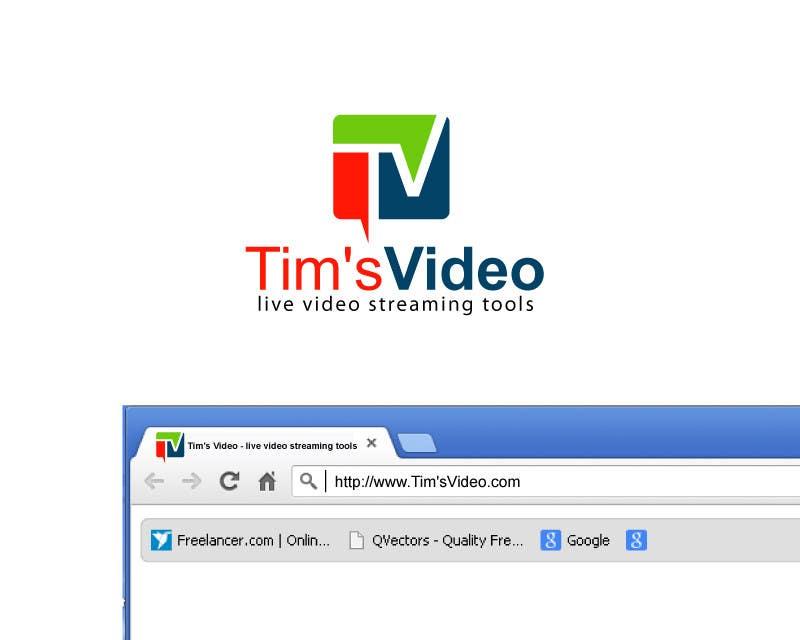 #627 for Logo design for Tim's Video by plsohani