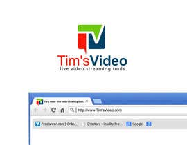 #627 untuk Logo design for Tim's Video oleh plsohani