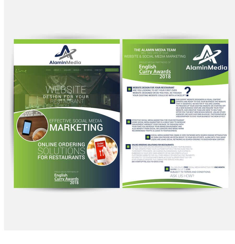 A5 Double Sided Print Ready Leaflet