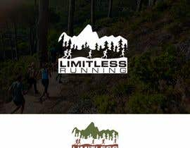 nº 5 pour Looking for a new logo for a running apparel company that specializes in shirts and hats. The company name is Limitless Running. The theme should revolve around nature and trail running. Pine trees, mountains, etc. par DesignApt