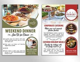 #18 untuk 2 Sided Restaurant/Catering Current Events Flyer oleh satishandsurabhi