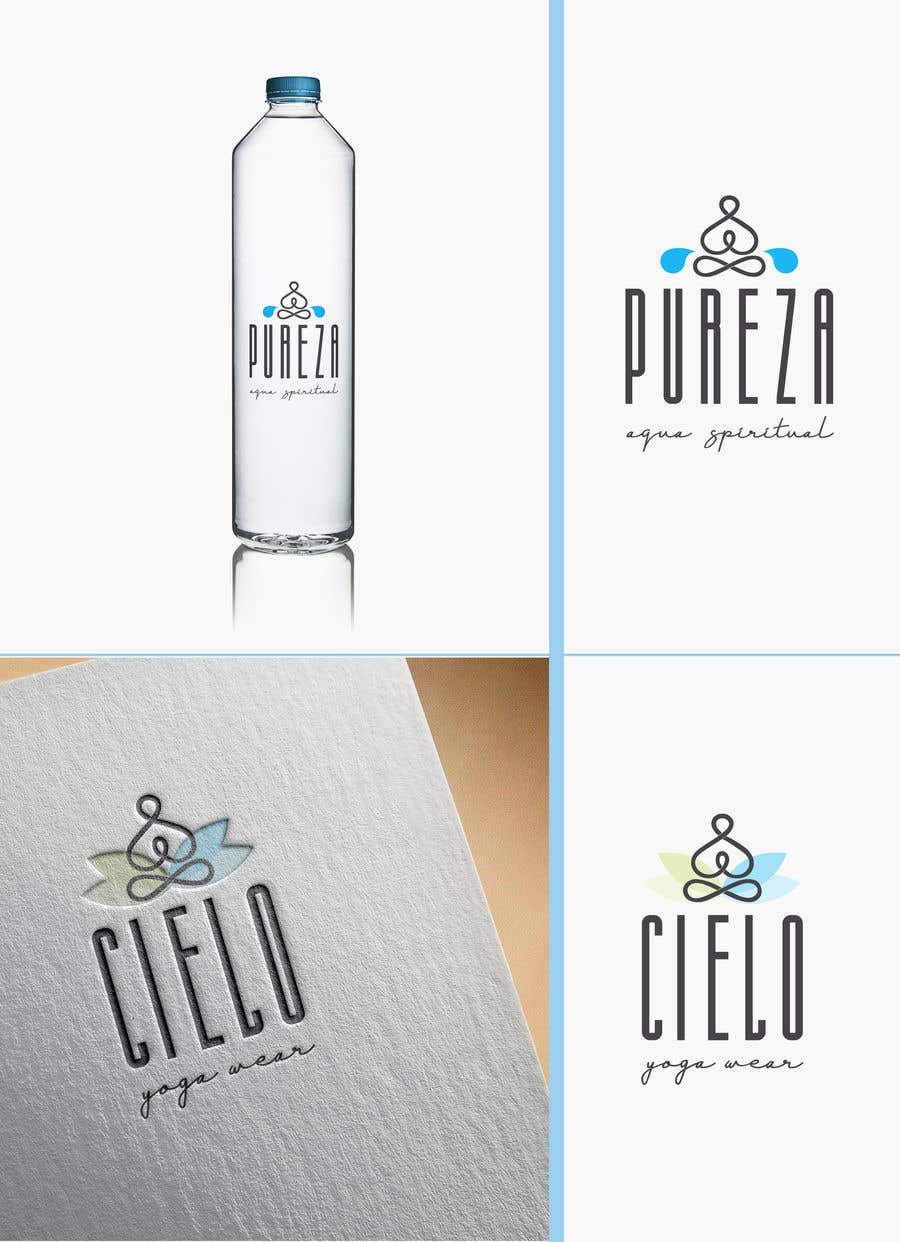 Entry 50 By Giz14 For Water Bottle And Yoga Clothing Logos Needed