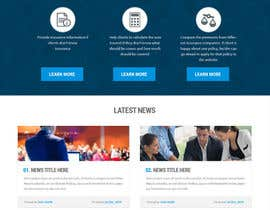 #30 cho Design a Website Mockup for an insurance broking company bởi Webprince