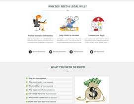 #64 cho Design a Website Mockup for an insurance broking company bởi Ganeshdas