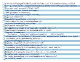 Nro 9 kilpailuun One page checklist design käyttäjältä ezhilartworks