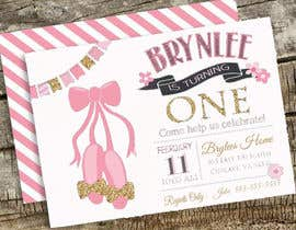 #4 for Birthday party invitation by Subachand009