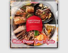 #13 for Make Dinner Great Again - Cookbook Cover Contest by AngAto