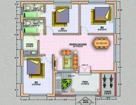 archmamun tarafından Design Floor Plan için no 48