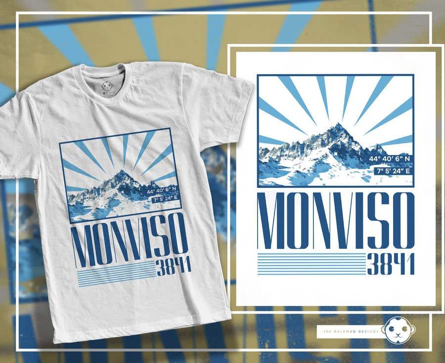 Penyertaan Peraduan #7 untuk Design Mountain T-Shirt