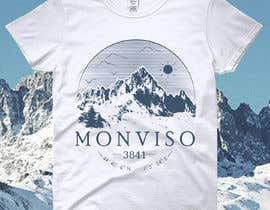 #63 for Design Mountain T-Shirt by color78