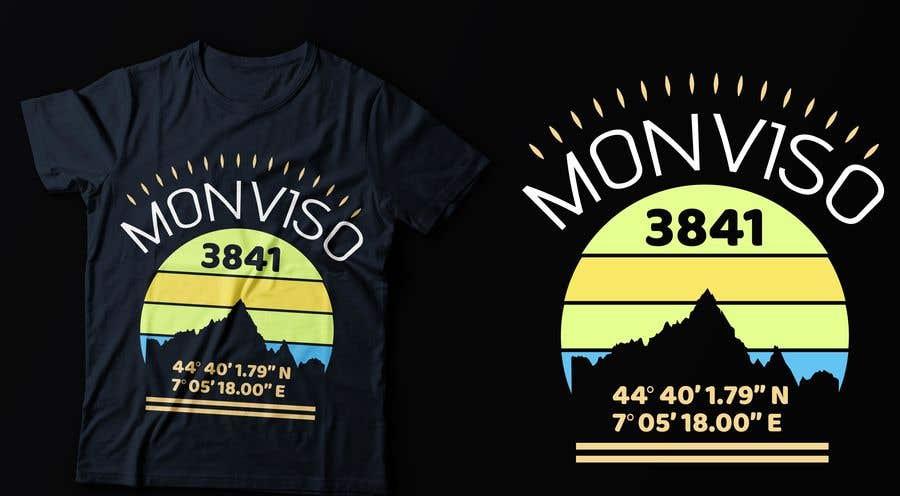 Penyertaan Peraduan #123 untuk Design Mountain T-Shirt
