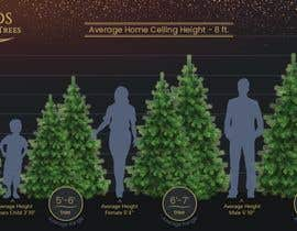 nº 15 pour Christmas Tree Sizing Guide par noparsley
