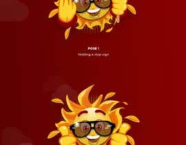 #30 for Cute Sun Character Face in 2-3 or more poses. by mamarkoe