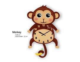 Nro 105 kilpailuun Simple Cartoon clock design käyttäjältä istykristanto