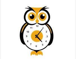 Nro 72 kilpailuun Simple Cartoon clock design käyttäjältä narvekarnetra02