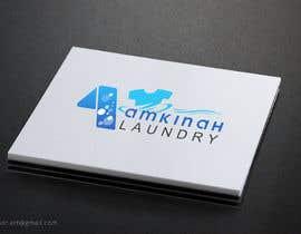#26 untuk Logo design for Amkinah Laundry oleh DhanvirArt
