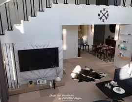 #15 для Living room and dining room design от HadjerCher