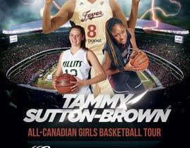 #16 for Design a flyer for a Basketball Tour af majasdigital