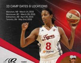 #21 for Design a flyer for a Basketball Tour af silvi86