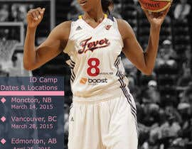 #13 for Design a flyer for a Basketball Tour af ivorilicivorica