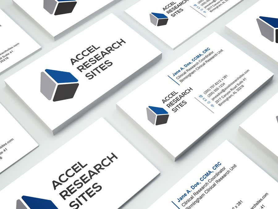 Entry #221 by LightWDesign for Design a business card template