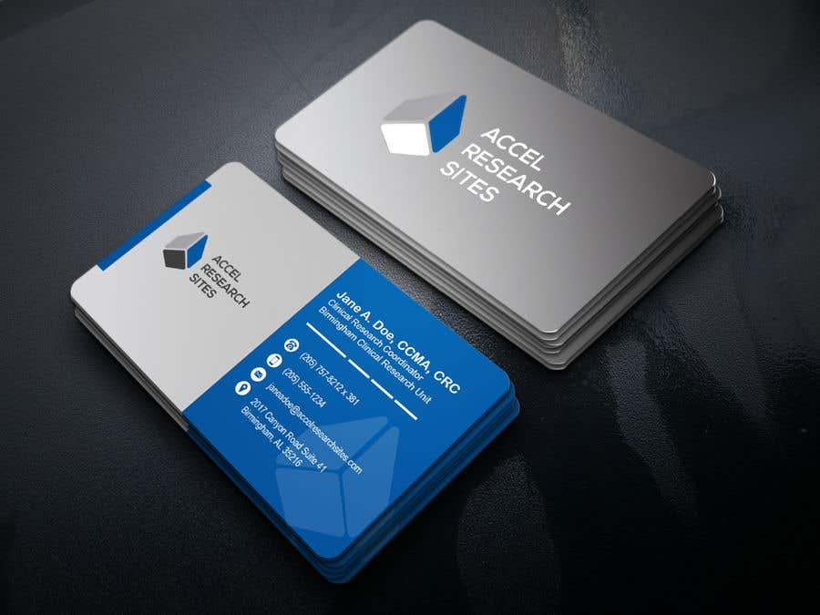 Entry #124 by FALL3N0005000 for Design a business card template