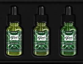 nº 41 pour Design E liquid logo and label par yafimridha