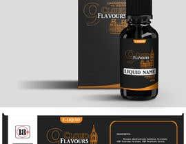 nº 38 pour Design E liquid logo and label par k3nd23