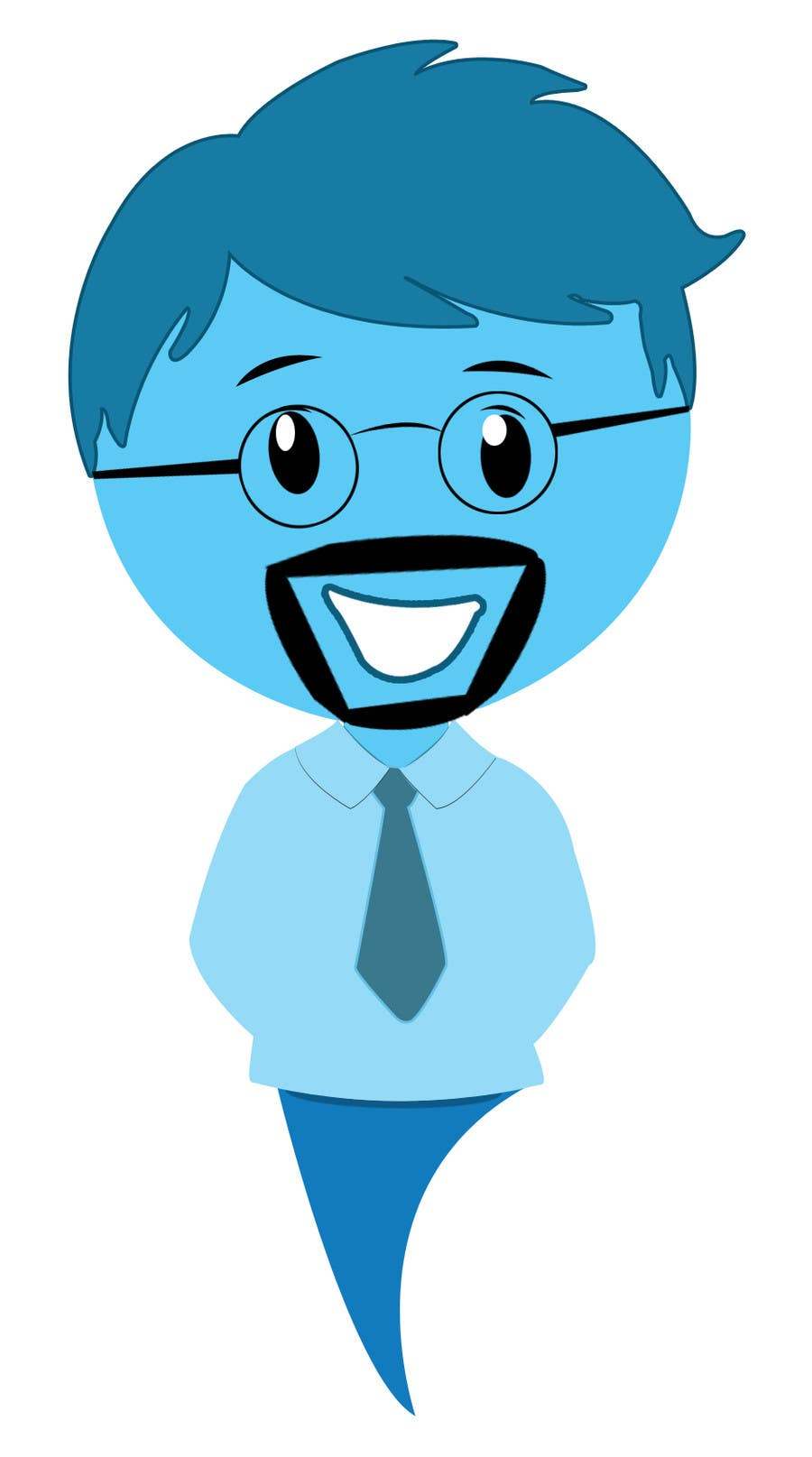 #124 for cartoon character design by icaninfosoft
