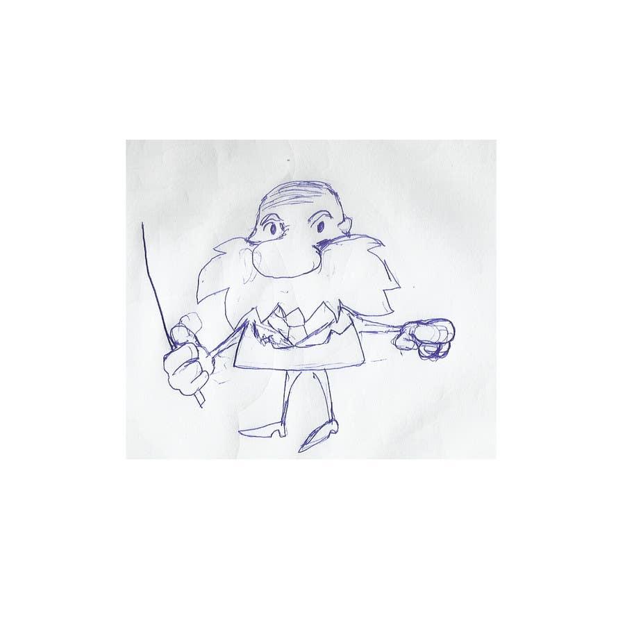 Конкурсная заявка №54 для cartoon character design