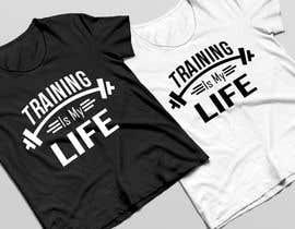 nº 9 pour Gym T-shirt Design par marianayepez