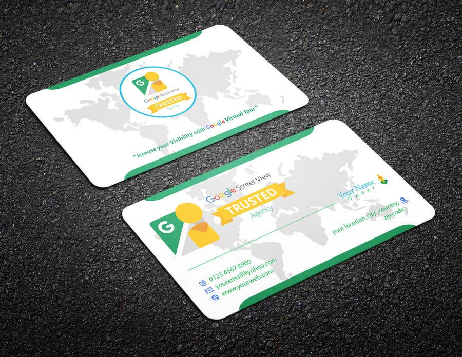 Konkurrenceindlæg #147 for Design some Business Cards For Google Street View Agency